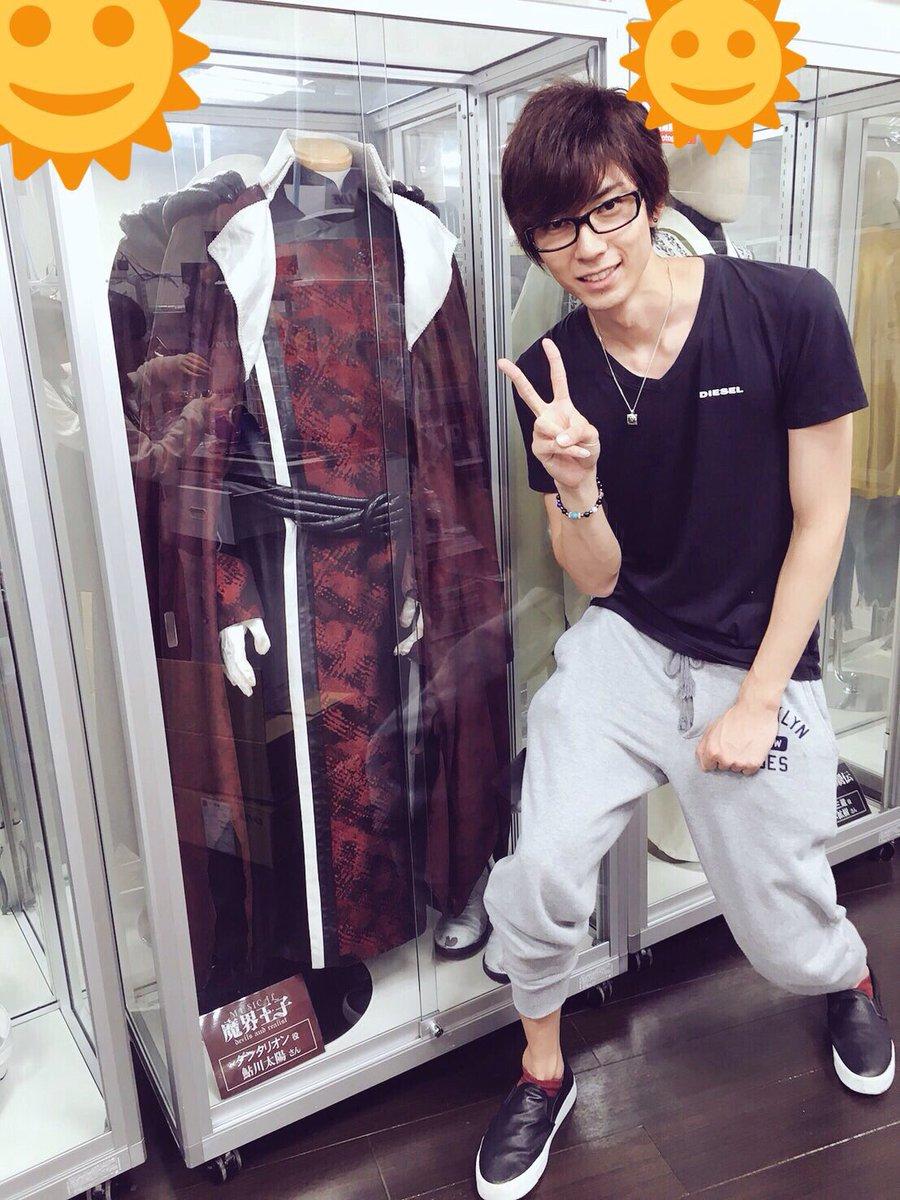 先日「アニメイトAKIBAガールズステーション」に行きましたぁ‼️【ミュージカル魔界王子】の衣装や …