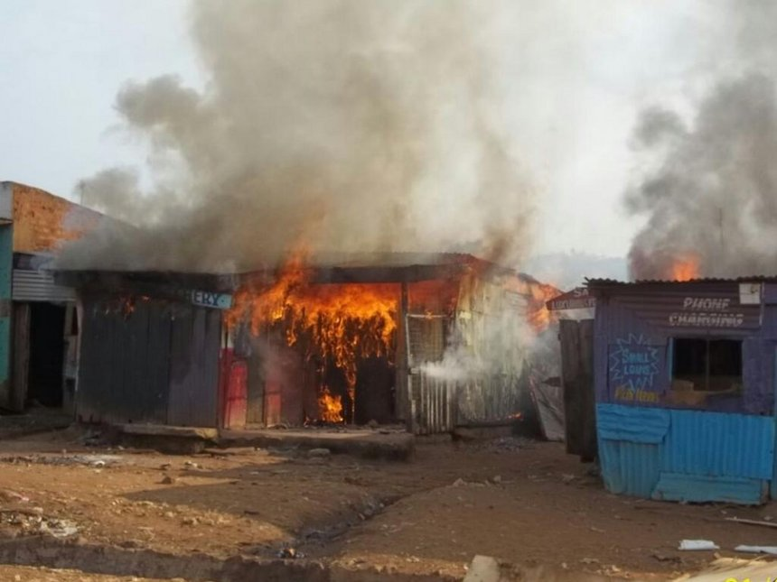Bungoma hotel burned after owner pours hot soup on customer over Sh20 meal