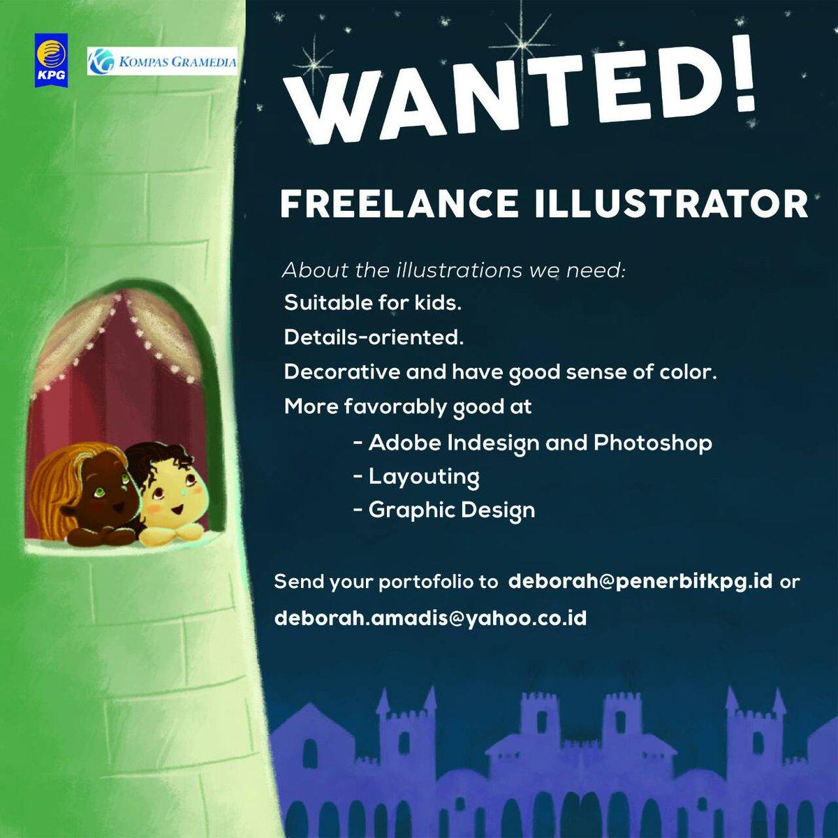 Hello! Untuk teman-teman illustrator dan tukang gambar yang mungkin tertarik, silahkan dicoba. Siapa tau cocok! :D https://t.co/GHv0eqNAJI