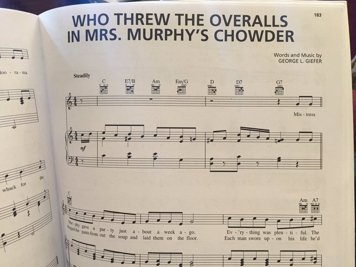 Came across this 'classic' in a book if Irish songs. https://t.co/umvUwU82tv