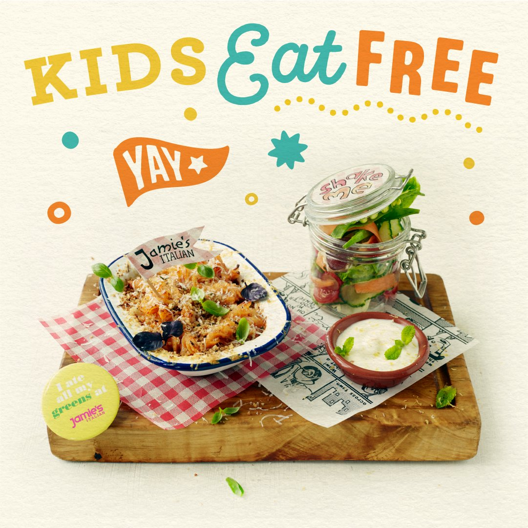 Kids eat FREE at @JamiesItalianUK  this Month!!! check out all the info here!! ???? ???? https://t.co/aVqw49oj0U https://t.co/w3M2sl5Ee2