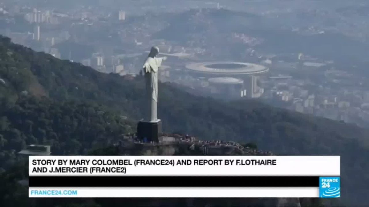 VIDEO -  Rio 2016: birds-eye view of Olympic venues