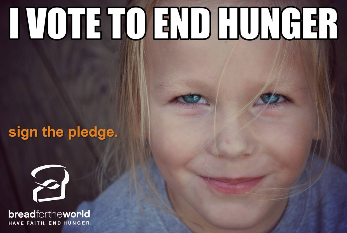 Take a stand for those most in need during the #2016Election. #IVote2EndHunger https://t.co/THtiNXxlvn https://t.co/Q37Xp33V4S