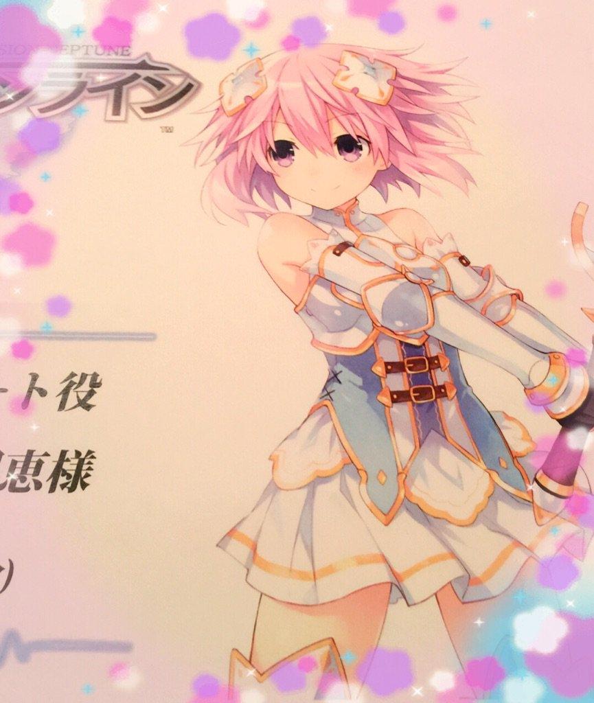 四女神オンラインの収録でした(*˘︶˘*).。.:*♡  ネプちゃんの衣装可愛すぎる♡ 収録頑張って…