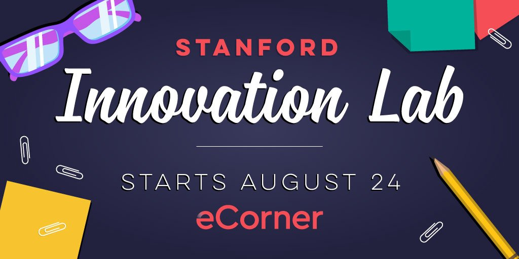 We're 2 weeks away from the launch of our new podcast series: Stanford Innovation Lab w/ @tseelig. Spread the word! https://t.co/o76ppIwKDa