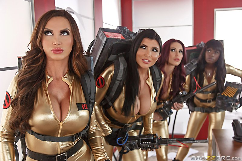 1 pic. Watch the trailer to the epic Ghostbusters (XXX Parody) finale now! neBnspvbEU #orgy