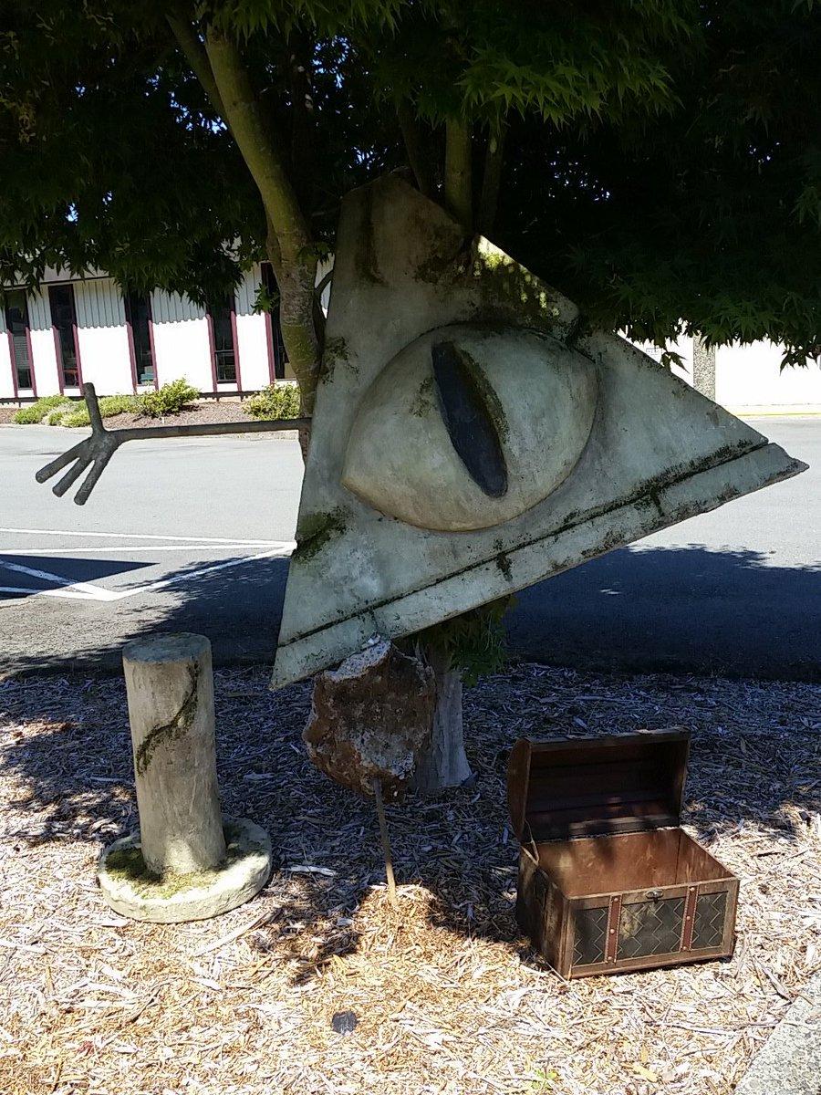 Где находится статуя билла