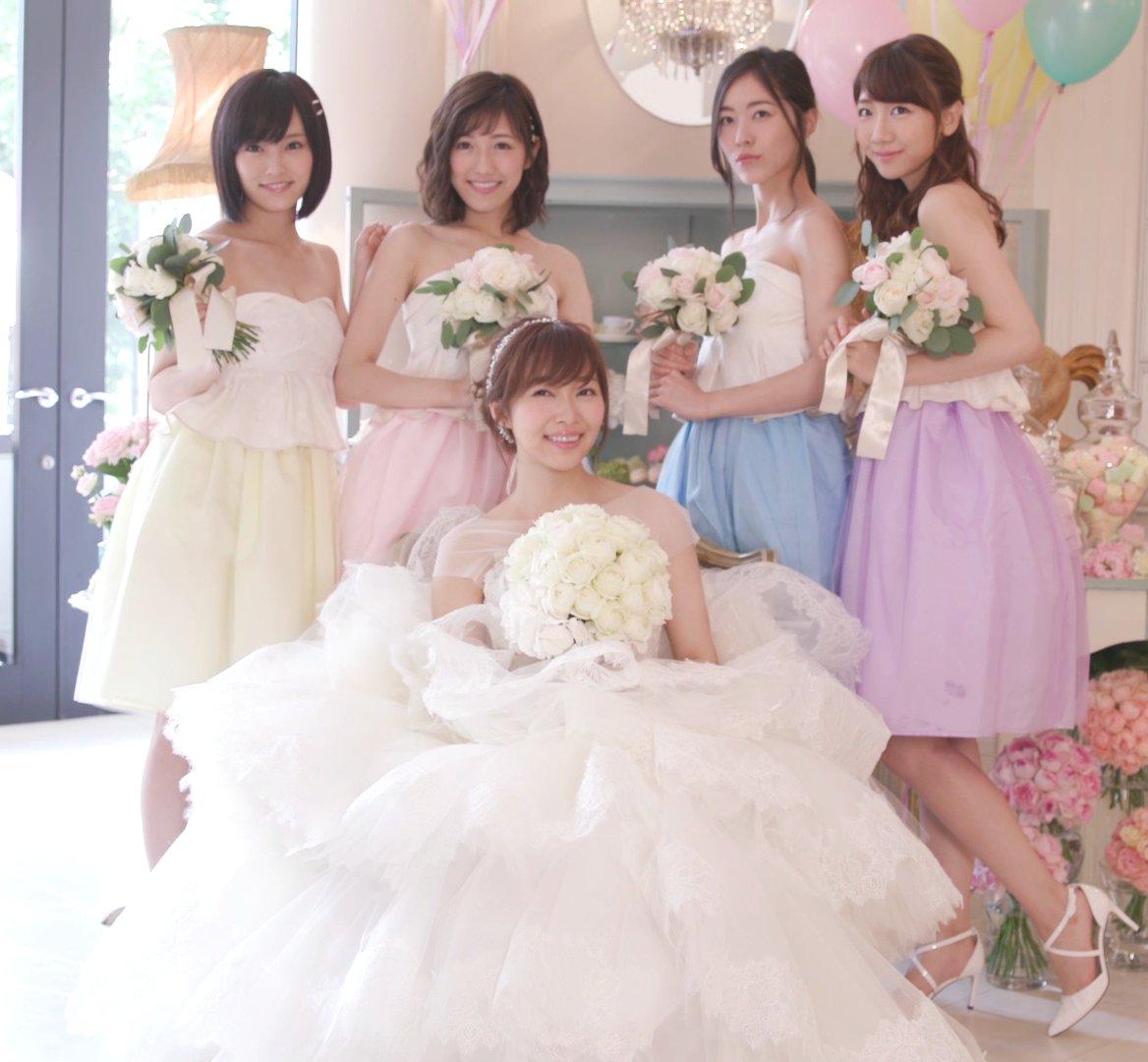 指原&ノブコブ吉村、AKB新曲MVで挙式&披露宴 メンバーも祝福 #AKB48 @345__chan…