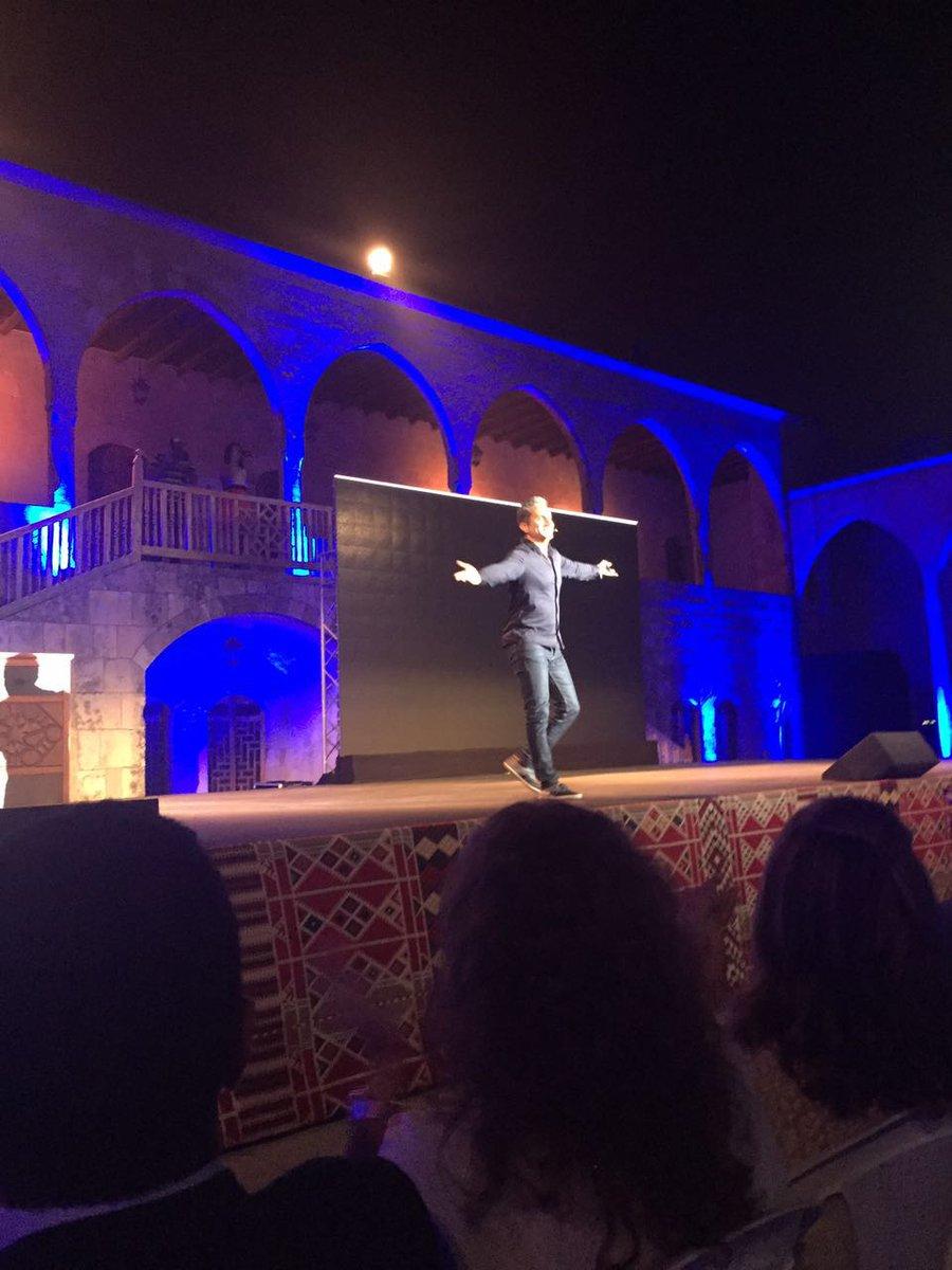 @DrBassemYoussef #باسم_يوسف في #بيت_الدين في #لبنان https://t.co/lUN2I8CUEY
