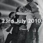 Friday 23rd of July, 2010, 8:22 PM. The band that gave us happiness was formed.   #6YearsOfOneDirection https://t.co/M1Gy1cEnP0