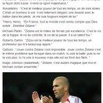 Zidane ce joueur qui a fait lunanimité auprès des plus grands #Légende https://t.co/amWNeltxgA