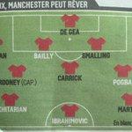 [#PL🇬🇧] Le 11 probable de Manchester United la saison prochaine, selon lEquipe ! https://t.co/t1MqAejwQ2
