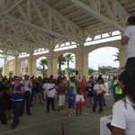 Unity rally at Jones Park sponsored by JZ 94.5. Bring police and community together #peace @wlox https://t.co/97qpIT1qFH