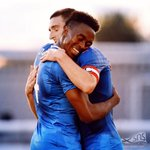 A win and a debut goal couldnt be happier! 😬😀🔴⚪️🔵 https://t.co/Zh8ftVmyG1