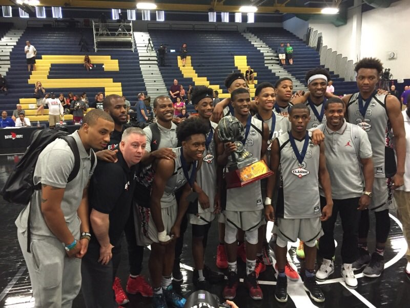 Team cp3 wins las vegas classic. highlighted by @wendellcarter34 ...
