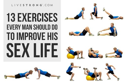 13 exercises every man should do to improve his sex life