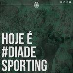 Hoje é #DiaDeSporting! #EuVouLáEstar https://t.co/8ZNdbfUWYH