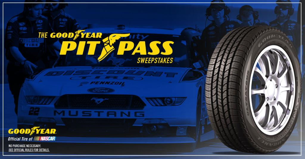 Calling all @NASCAR ® fans! Enter the @Goodyear https://t.co/Rs3MHbQulx sweepstakes today to for your chance to win! https://t.co/wwsxGRdscQ