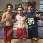 A great camp finished off with 8 rounds of sparring with @jerosugar & @Sharkyy_96. Im ready for @leosantacruz2 https://t.co/rYC1Ey9IQw