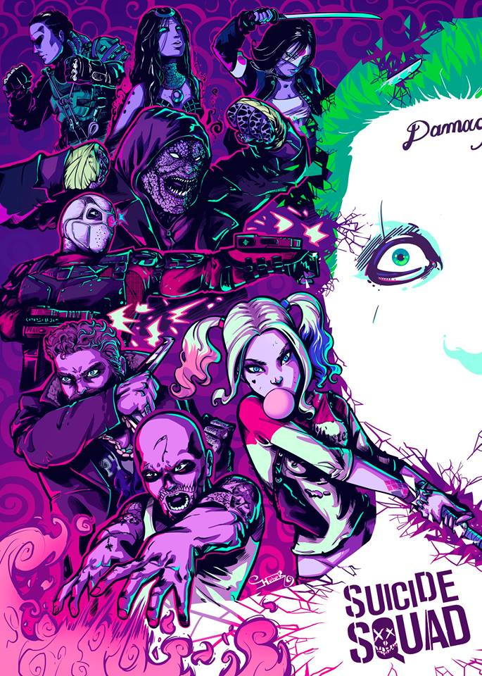 Inspired by @SuicideSquadWB, here is the Selected Artist Heber Villar Liza! Congrats! https://t.co/f5Q3GAiomY