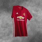 Unveiled and ready for the new season. The new 2016/17 @ManUtd home shirt is out now. #FirstNeverFollows https://t.co/qZWuBNrdkU