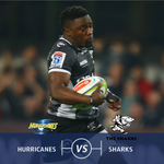 The Sharks have played 6 #SuperRugby playoff games in New Zealand and have lost them all. Will that change today? https://t.co/gOatD7Gqyv