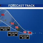 BREAKING:Tropical Storm Darby shifted further south. Tune in to @KITV4 at 5, 6 & 10 for coverage from the Big Island https://t.co/EGnfAOaCKQ