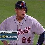 Congrats, Miggy! He becomes the fastest player to 400 HR and 1,500 RBI. 💪🐯 https://t.co/qh1IqI18on