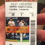 What a game! McCullers was awesome. Glad I got to see it w/ my dad. #Astros @LMcCullers43 https://t.co/j7b54QOmP8