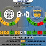 MatchDay Mochudi Centre Chiefs VS Township Rollers FC (League Play-off) Francistown,3:30 PM https://t.co/AXGQ8jKxAx https://t.co/cSkKAYcPjo