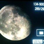 #OjosAlCielo Así luce la Luna en este momento #Chiapas. Gibosa Menguante, 88% iluminada. https://t.co/wiDJIkI9FN
