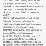 Mi posición al tema de la playera del @clubleonfc ¡La afición tiene razón al enojarse! @La_hinchada @pacovela https://t.co/oOvWCfmKHz