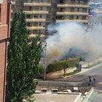#ESTÁPASANDO | El incendio en Avenida Ejército Español visto desde lo alto. Inicio y evolución. FOTO: MARTA VEGA https://t.co/zabglShz0g