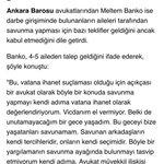 Anadolu Ajansı ile tek soruluk mini röportajım! Darbe girişiminde bulanan kişilerin savunmalarını üstlenir misiniz? https://t.co/u61UQvwrto