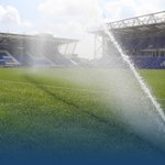 PHOTO | The @ABAXStadium pitch having a drink in the sunshine ahead of our pre-season friendly against @LUFC #pufc https://t.co/MenXRFcqdC