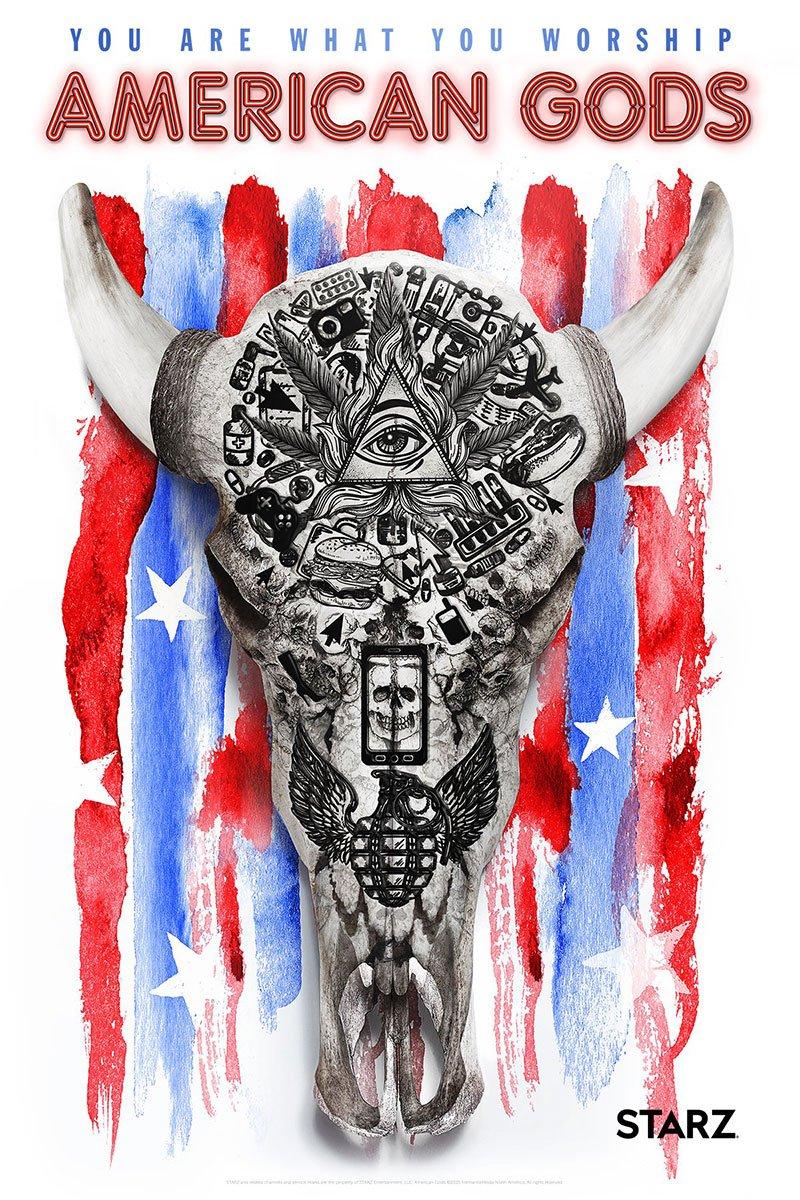 #AmericanGods