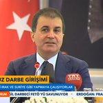 #CANLI AB Bakanı Ömer Çelik: FETÖ elebaşı Gülen Bin Ladinden daha tehlikeli. https://t.co/7nr98xcXJU https://t.co/imw8X1Qpyn