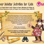 School holiday fun @mylifecharity book now for some great days out #anyability https://t.co/pPNX783wEQ