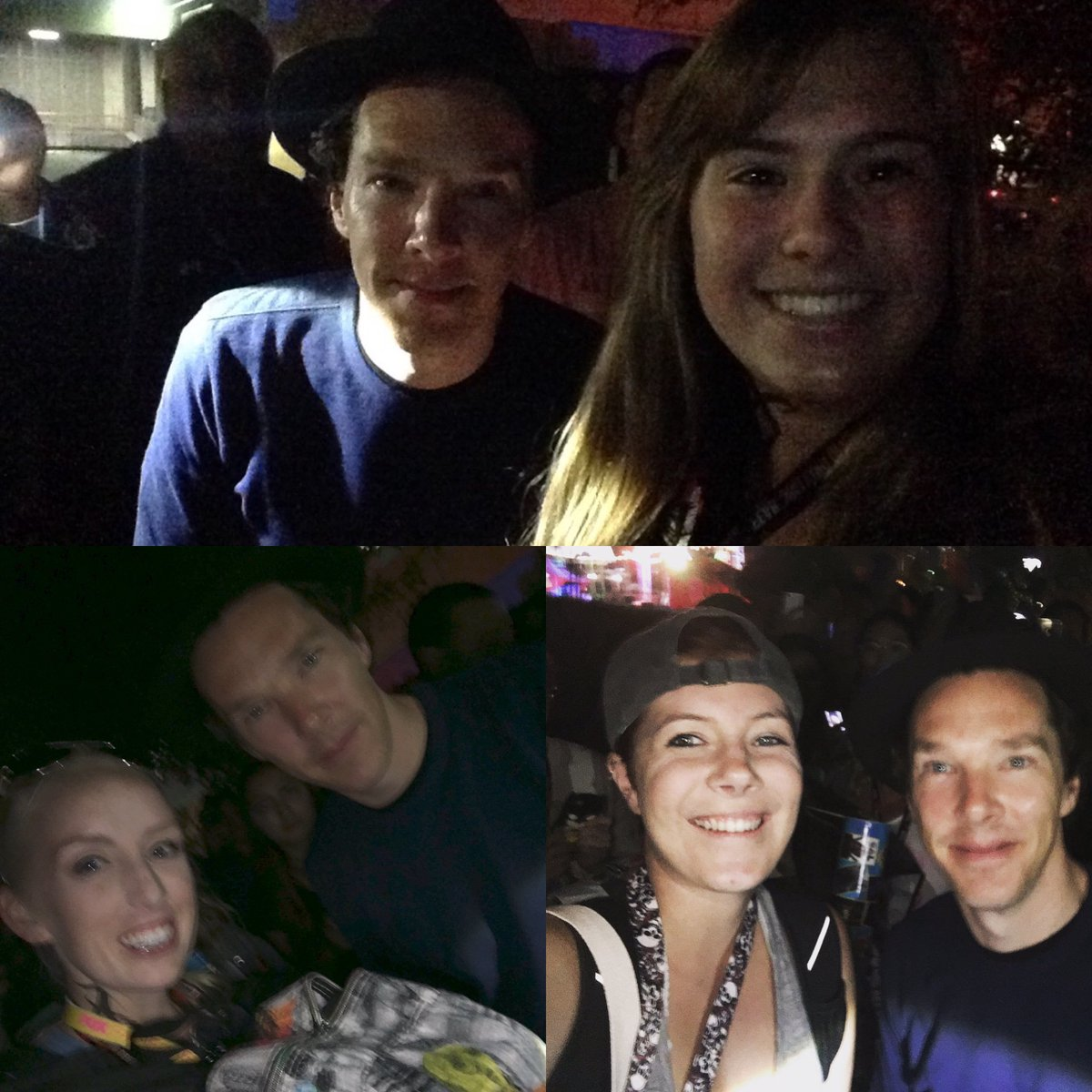 Benedict Cumberbatch decided to give everyone in the #HallH line on Friday night! #comiccon #sdcc2016 #sherlock https://t.co/f8eZa2sqau