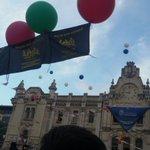 Muy orgulloso de la gente de @Libres_org y #pasajeseguro #santander #fiestas #pregón #chupinazo https://t.co/sbYOPJcU2E