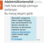 Senin için Sokağa çağıran Cumhurbaşkanı Erdoğan dahil herkes provokatör. Şerefsiz kripto seni... @adaletmlkntmldr https://t.co/NjgQzIpbqd