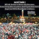 Haydi #İzmir! Milli irade, demokrasi ve ülkemize sahip çıkma zamanı.Tüm hemşehrilerimizi #Konak Meydanına bekliyoruz https://t.co/6OkKZNN6ka
