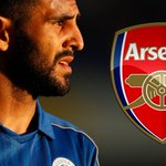 BREAKING: Riyad Mahrez has decided to leave Leicester and join Arsenal https://t.co/yeQhXJBwMR https://t.co/6bFGM57PUa
