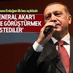 """Cumhurbaşkanı Erdoğan ilk kez açıkladı: """"Org. Akarı Gülenle görüştürmek istediler"""" https://t.co/KDbZNpheOJ https://t.co/bIIOvx3nYU"""