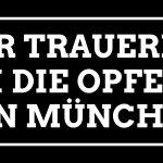 Wir trauern um die Opfer von #München. https://t.co/kVaKu4uZf7 https://t.co/UBEbEMzJFs
