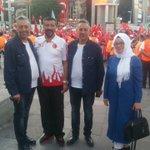 Kızılay Meydanında Ankara Halkımıza konuşma yapmamız öncesinde Başkanımız bize büyük bir teveccüh gösterdi. https://t.co/3GjiwBfZ4r