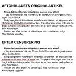 Självklart har Aftonbladet nu censurerat det faktum att gruppvåldtäkten ägde rum i närheten av ett HVB-hem. #svpol https://t.co/FndLa71OFD