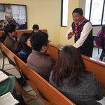 Hermanos de la Iglesia El Faro participando del repaso de la lección #Caleb8UPN #YoVoy https://t.co/GZLTftzpmH