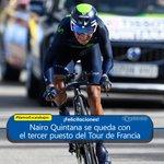 Nairo Quintana logró asegurarse un puesto en el podio del Tour de Francia https://t.co/95M3laPXgZ #VamosEscarabajos https://t.co/4YNT9Nu6Q8