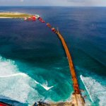 China-Maldives Friendship Bridge project: #rangalhu #ShukuriyyaRaeesYameen https://t.co/GnAQOFpuFD